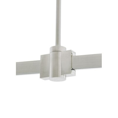 Rigid Standoff Isolating 1-Circuit T-Trak with Connector Track Finish: White, Size: 36 H x 1 W x 0.5 D