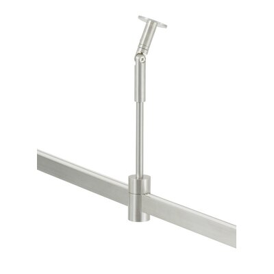 Standoff Vault T-Trak Sloped Ceiling Adapter Finish: Satin Nickel