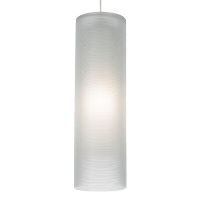 Borrego 1-Light Mini Pendant Finish: Chrome, Shade Color: White