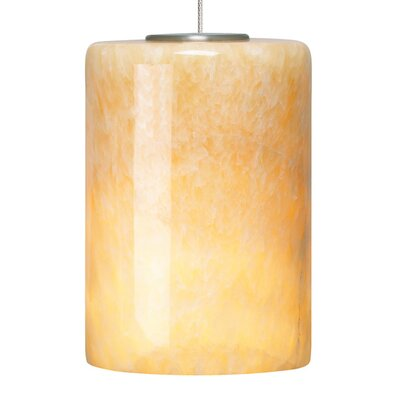 Cabo 1-Light Mini Pendant Base Finish: Satin Nickel