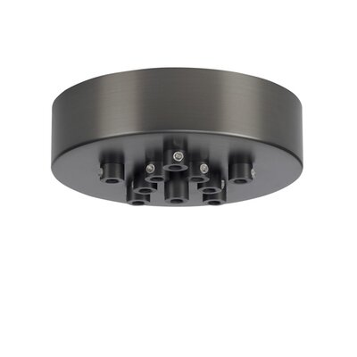 Line-Voltage Mini 11 Port Canopy Finish: Satin Nickel