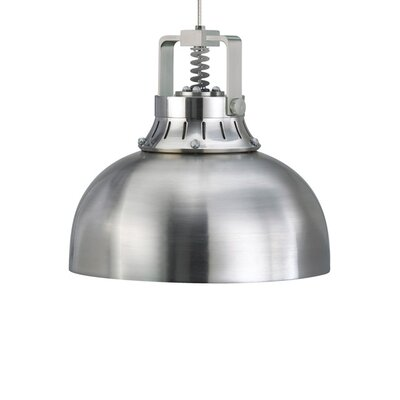 Cargo Solid 1-Light Inverted Pendant Finish: Satin Nickel