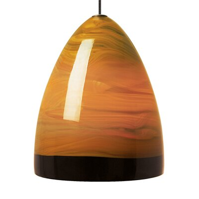Driggers Monorail 1-Light Mini Pendant Color: Antique Bronze, Bulb Type: 12 V LED 80 CRI 3000K