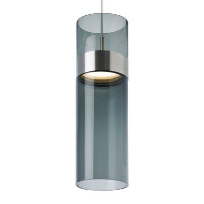Manette Grande 1-Light Mini Pendant Shade Color: Transparent Smoke