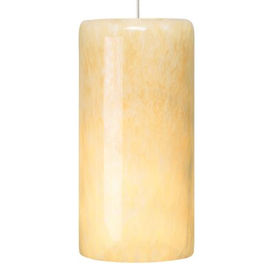 Cabo Grande 1-Light Mini Pendant Finish: White