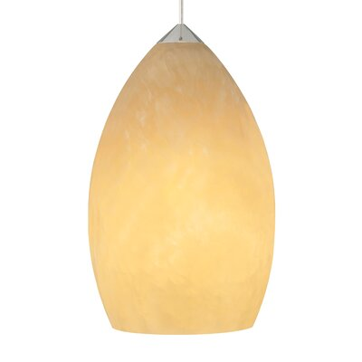 Fire 1-Light Mini Pendant Finish: Satin Nickel