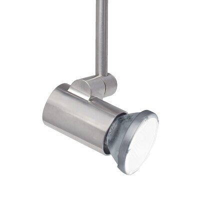 Tweak 1-Light 1-Circuit Ceramic Metal Halide PAR20 Track Head Finish: Satin Nickel, Drop Height: 12, Wattage: 39 W
