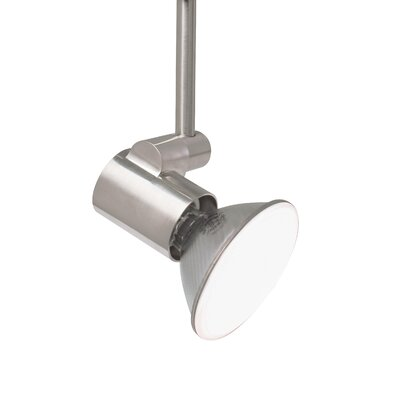 Tweak 1-Light 2-Circuit Ceramic Metal Halide PAR30 Long Track Head Wattage: 20 W, Finish: Satin Nickel, Drop Height: 6