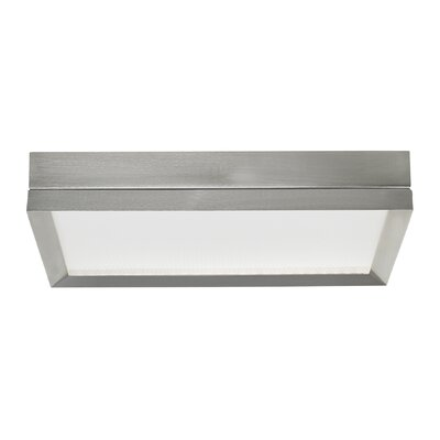 Finch LED Flush Mount Finish: Satin Nickel, Voltage: 120V