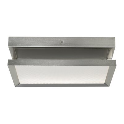 Finch Float LED Flush Mount Finish: Satin Nickel