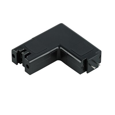 Unilume Light Bar L Connector Finish: Black