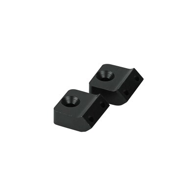 Unilume Light Bar Angled Mounting Bracket Finish: Black, Beam Angle: 45
