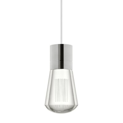 Alva 1-Light Mini Pendant Finish: White, Size: 192