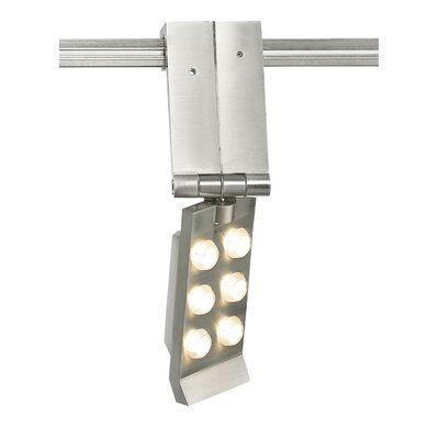 Burk 6-Light FreeJack Track Head