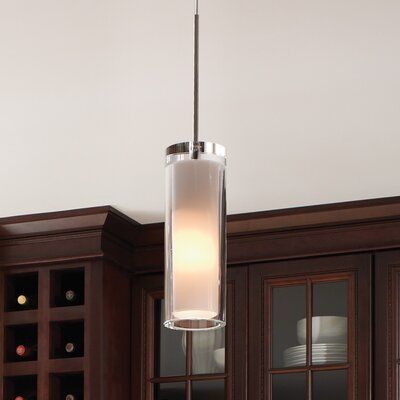 Sara Grande 1-Light Mini Pendant Finish: Satin Nickel