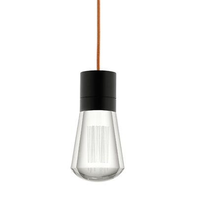 Alva 1-Light Mini Pendant Finish: Copper, Size: 192
