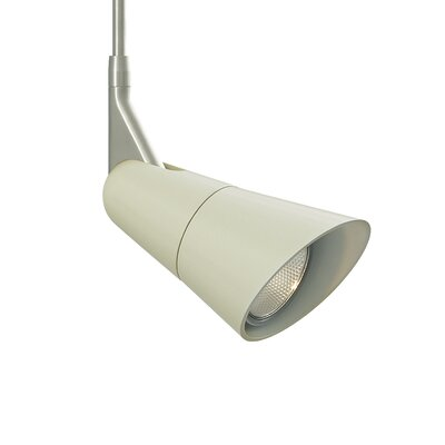Scania 1-Light Monopoint Track Head Shade Color: Latte, Size: 12 H x 4.8 W x 4.8 D
