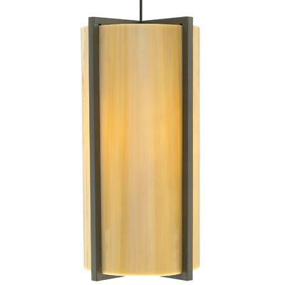 Essex Mini Pendant Base Finish: Satin Nickel, Shade Color: Sand