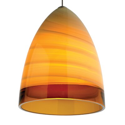 Driggers Mini Pendant Shade Color: Amber