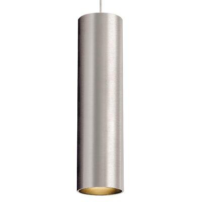 Piper 1-Light Mini Pendant Base Finish: Satin Nickel, Bulb Type: 80 CRI 3000K LED