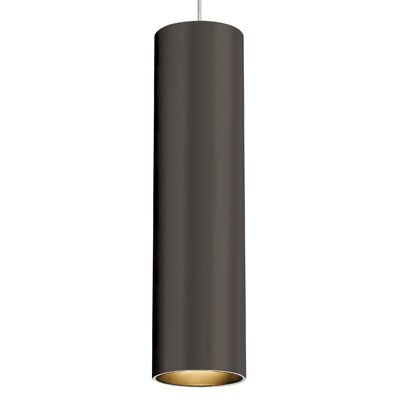 Piper 1-Light Mini Pendant Base Finish: Antique Bronze, Bulb Type: 80 CRI 3000K LED