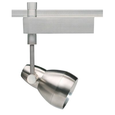 Om 1-Light 2-Circuit Ceramic Metal Halide PAR30 39W Track Head Finish: Satin Nickel, Decorative Lens Ring: Without Ring, Drop Height: 11.1