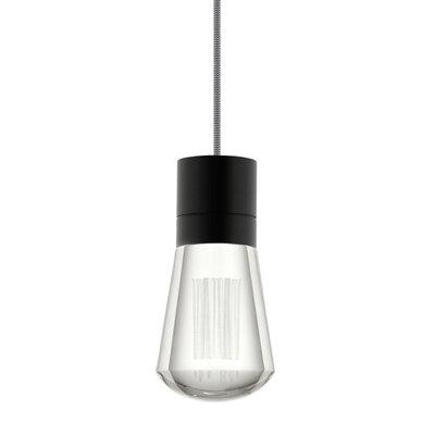 Alva 1-Light Mini Pendant Size: 288, Finish: Black / Black & White