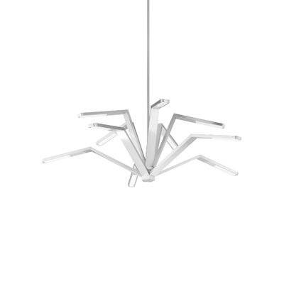 Aragon Pendant Finish: Satin Nickel