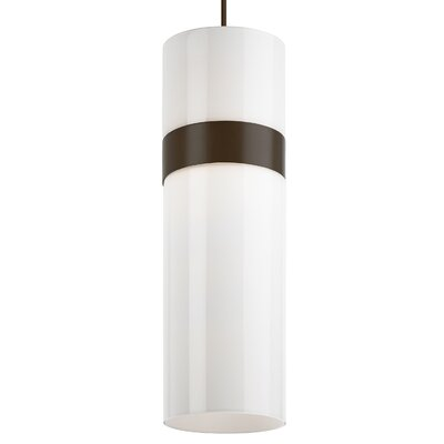 Manette Grande 1-Light Globe Pendant Shade Color: White