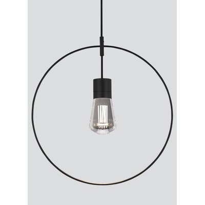 Alva 1-Light Mini Pendant Finish: Gray, Size: 192