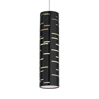 Revel Drum Pendant Shade Color: Black