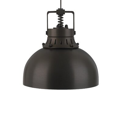 Cargo Solid 1-Light Inverted Pendant Finish: Antique Bronze