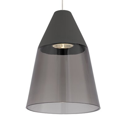 Masque Mini Pendant Shade Color: Smoke/Gray
