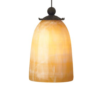 Buckingham 1-Light Mini Pendant Base Finish: Antique Bronze
