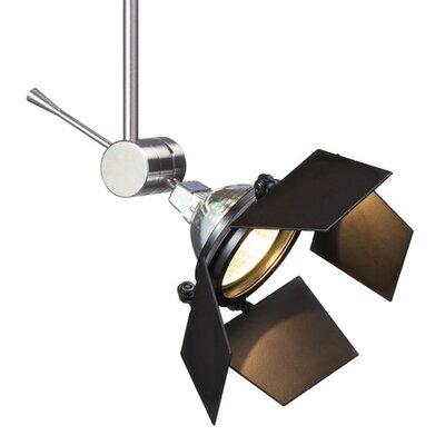 Sprocket 1-Light Head Finish: Chrome, Size: 1.2 H x 3.1 W x 3.1 D