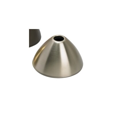 Belladonna 4.5 Metal Bowl Track Head Shade Finish: Satin Nickel