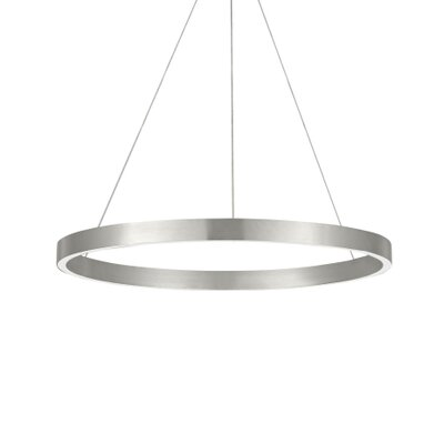 Fiama Pool Table Lights Finish: Satin Nickel, Size: 1.5 H x 30 W x 30 D