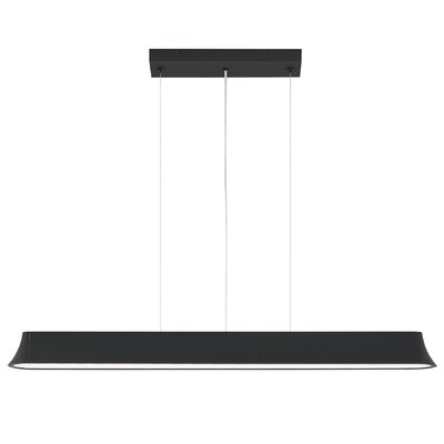 Zhane 2-Light Kitchen Island Pendant Finish: Black
