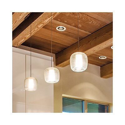 Otto 1-Light Globe Pendant Finish: Antique Bronze, Shade Color: Brown