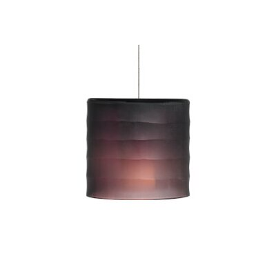 Bali FreeJack 1-Light Mini Pendant Finish: Chrome, Shade Color: Purple/Amethyst, Bulb Type: 1 x 50W Halogen