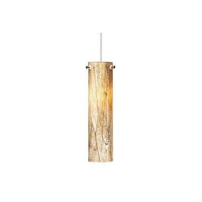 Silva 1-Light Kable Lite Pendant Finish: Satin Nickel, Bulb Type: 1 x 50W Halogen