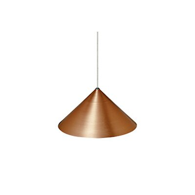 Sky Two-Circuit Monorail 1-Light Mini Pendant Size: 12, Finish: Copper / Bronze