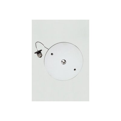 FreeJack Recessed Can Adapter Ceiling Light Finish: Satin Nickel, Voltage: 120V IN / 12V OUT