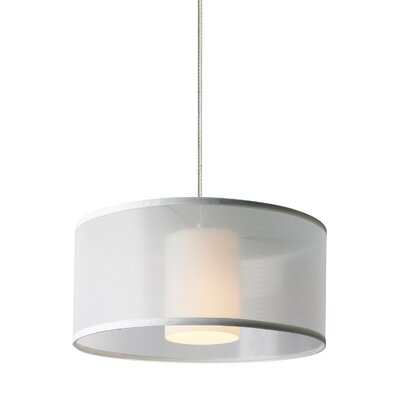 Frary Mini Drum Pendant Shade Color: White