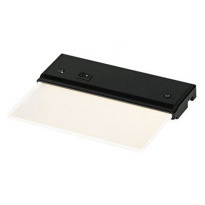Lx Glyde LED 6 Under Cabinet Light Bar Finish: Black