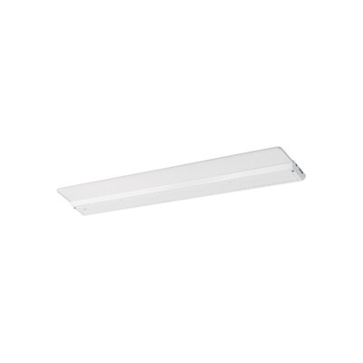 29.4375 LED Under Cabinet Bar Light Finish: White