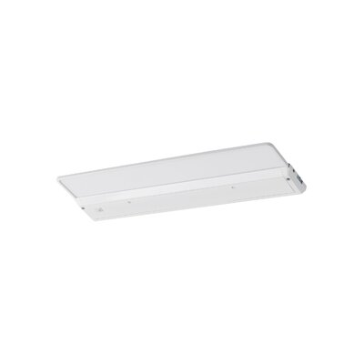 17.4375 LED Under Cabinet Bar Light Finish: White
