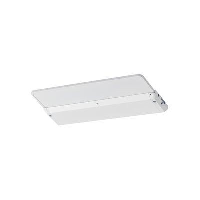 120V 3000K LED Self Contained Glyde Recessed Trim Finish: White