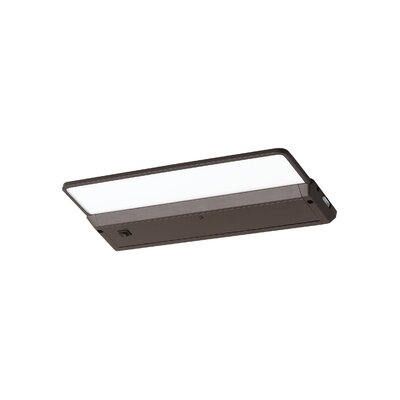 120V 3000K LED Self Contained Glyde Recessed Trim Finish: Painted Antique Bronze