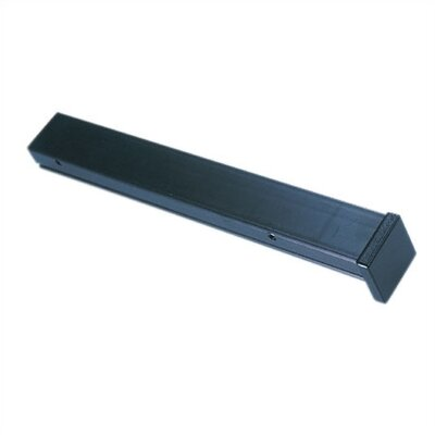Ambiance Track Lighting Fascia End Cover in Black